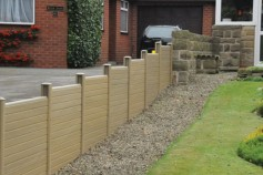 Natural gravel boards.